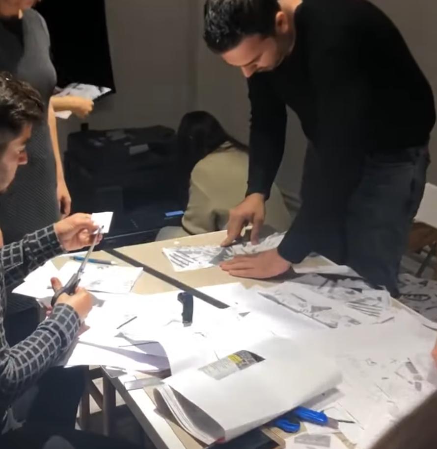 """2019  Hayy Açık Sanat Alanı ile ortak proje olan """"Daha Fazla F""""  Melike Taşcıoğlu Atölyesi"""